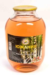 Сок березовый, 3 литра, Южания