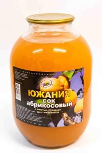 Сок абрикосовый, ГОСТ, 3 литра, Россия
