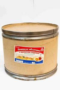 Повидло яблочное со вкусом персика. 10 кг барабаны. Беларусь